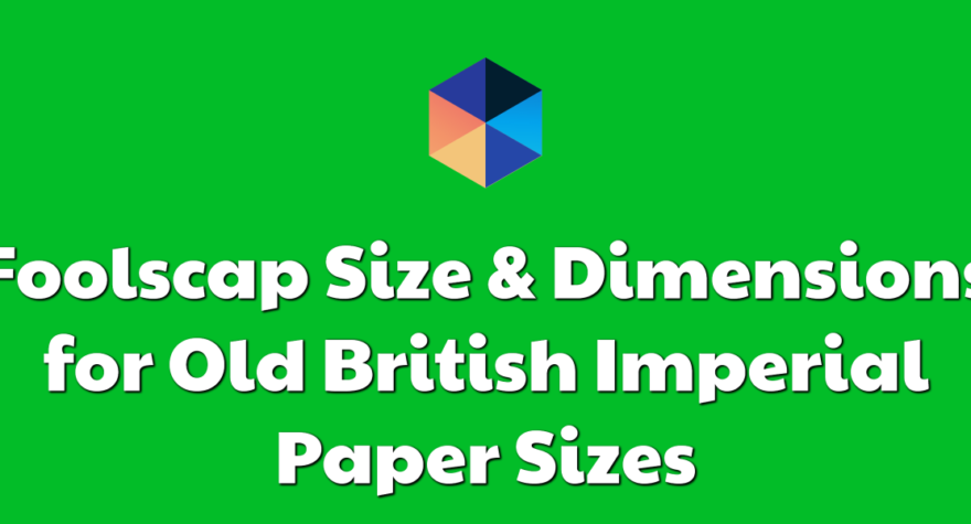 Imperial Paper Sizes